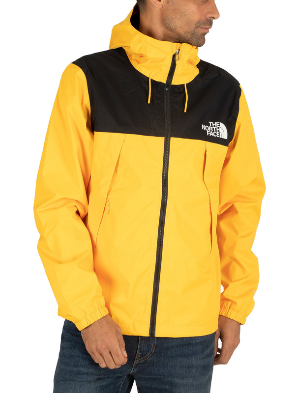 Yellow North Face Jacket for Men