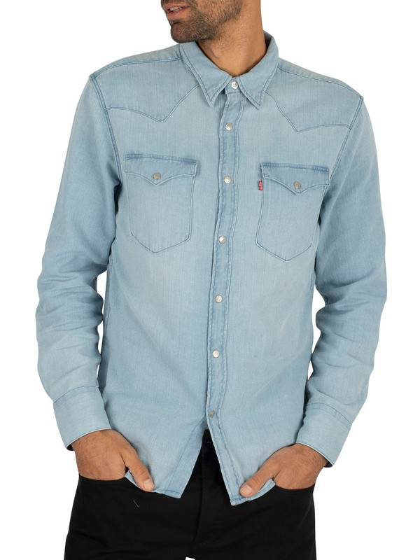 Levi's Barstow Western Shirt - Light Blue