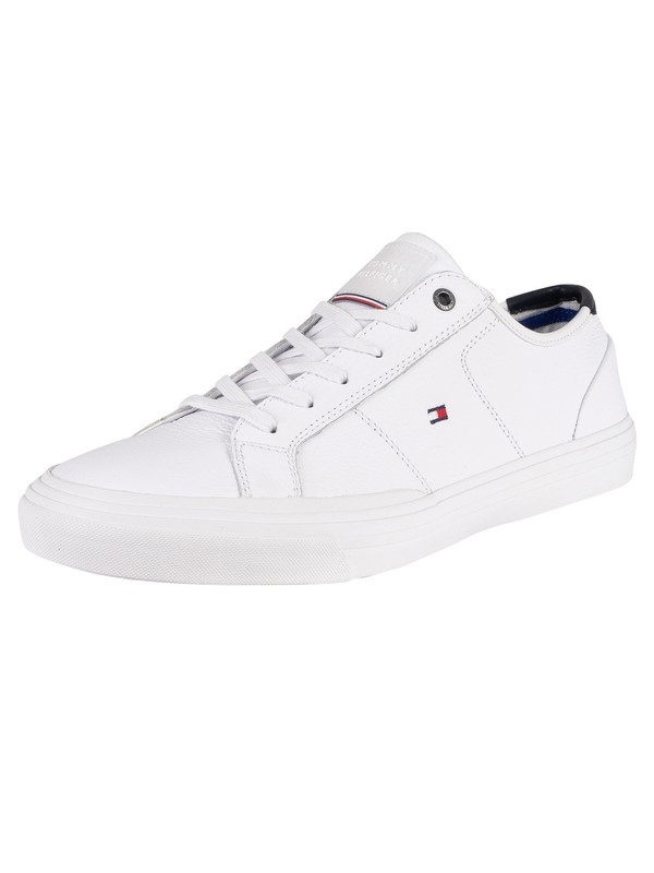 Tommy Hilfiger Core Corporate Flag Trainers - White
