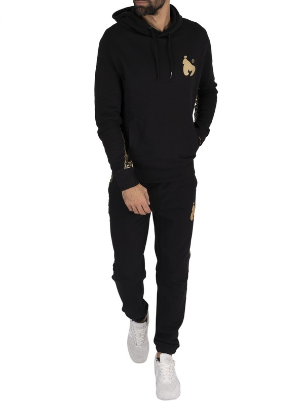Money Gold Tape Tracksuit - Black