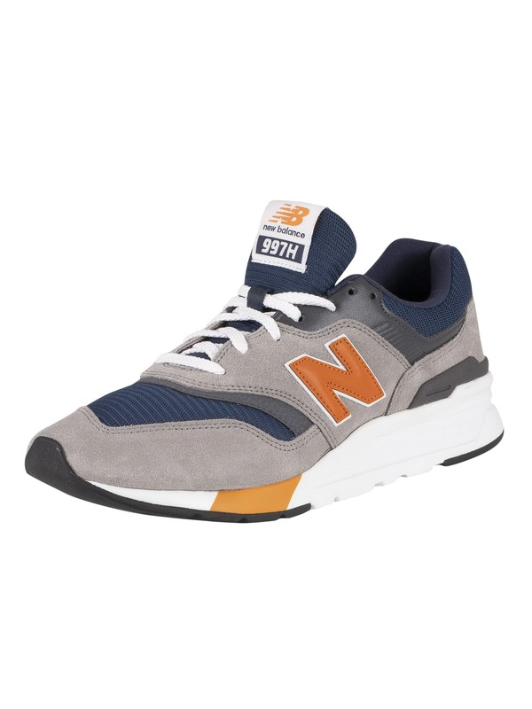 New Balance 997H Suede Trainers - Marblehead/Natural Indigo