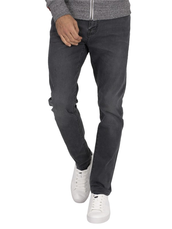 Superdry Tyler Slim Jeans - Portland Washed Black