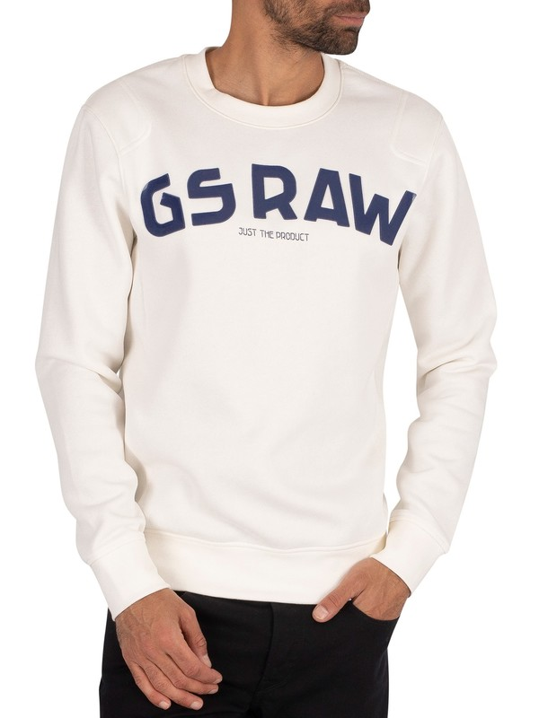 G-Star Graphic Sweatshirt - Milk
