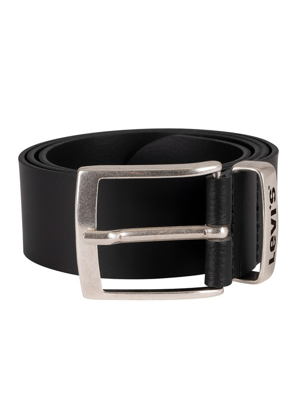 Levi's Ashland Leather Belt - Regular Black