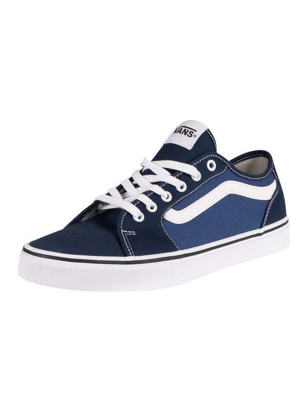 Vans Filmore Decon Canvas Trainers - Dress Blue/Navy