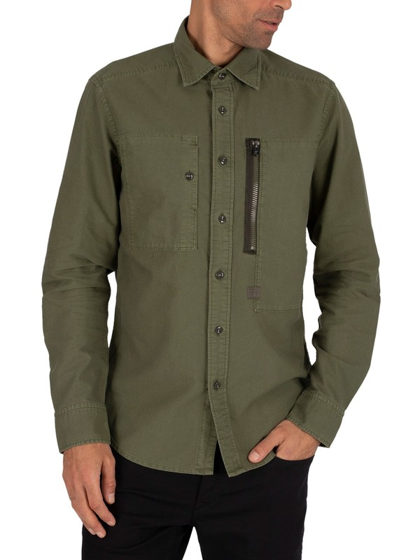 G-Star Powel Slim Shirt - Bronze Green