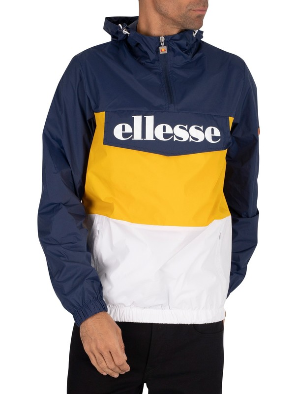 Ellesse Domani Jacket - Navy/Yellow