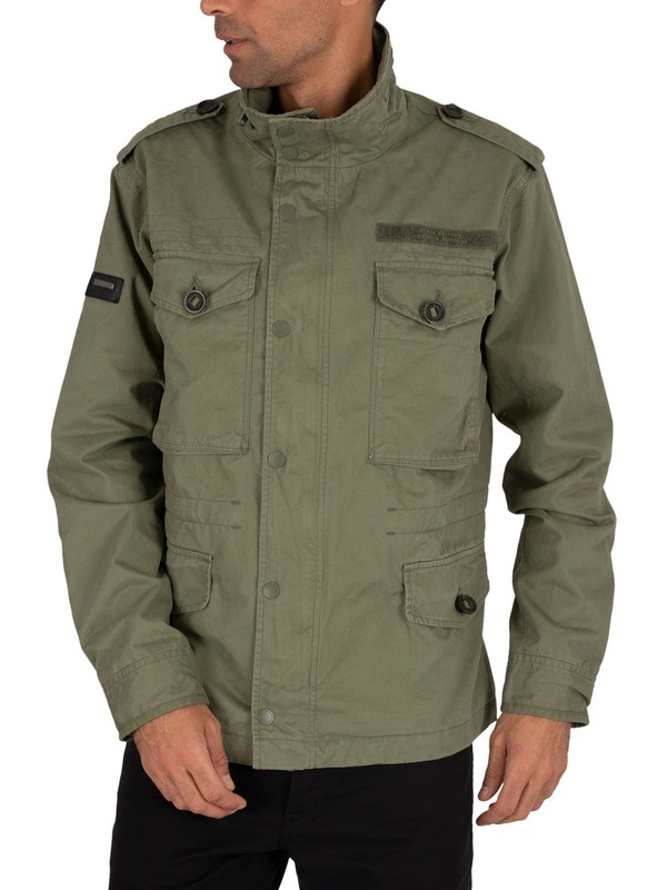 Superdry Field Jacket - Fatigue Green