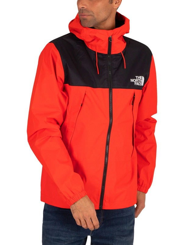 Red North Face Jacket for Men