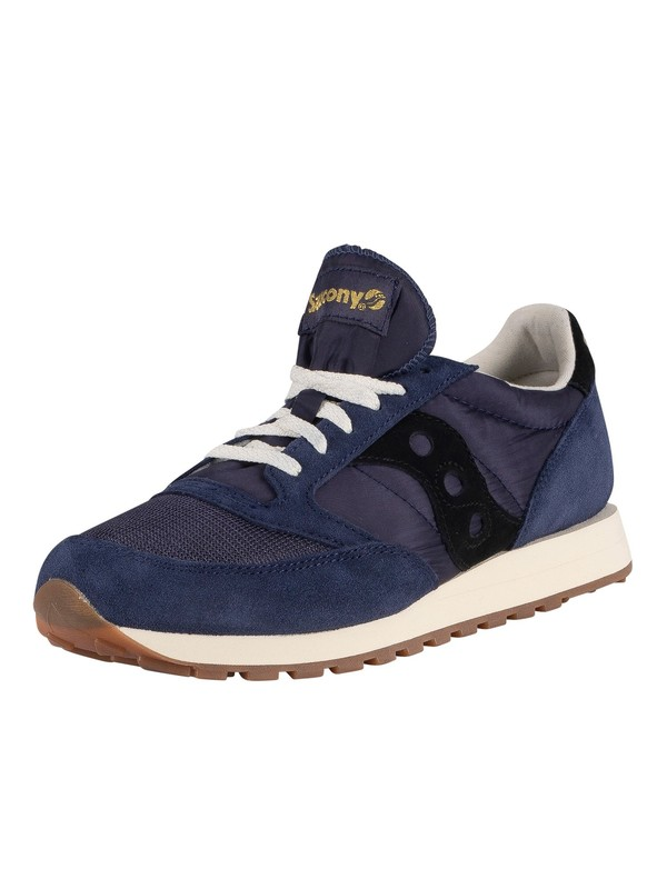 Saucony Jazz Original Vintage Trainers - Navy