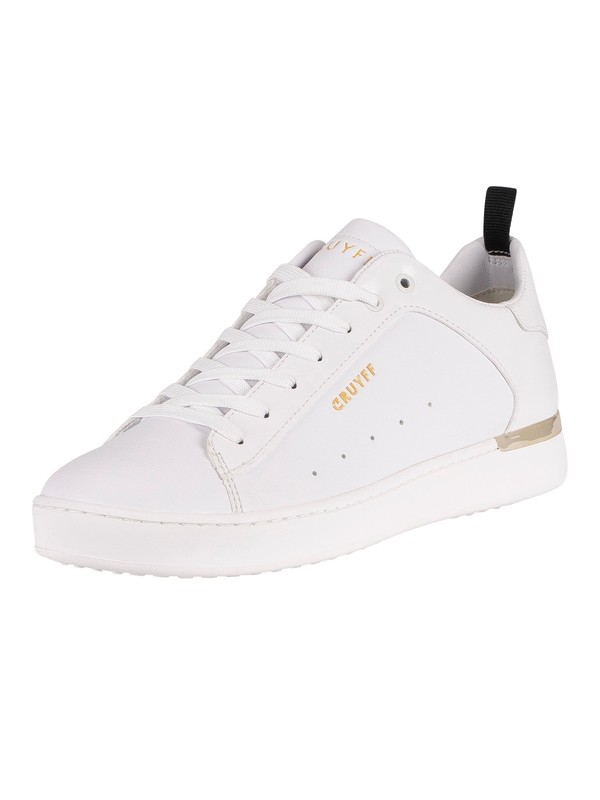Cruyff Patio Lux Leather Trainers - White