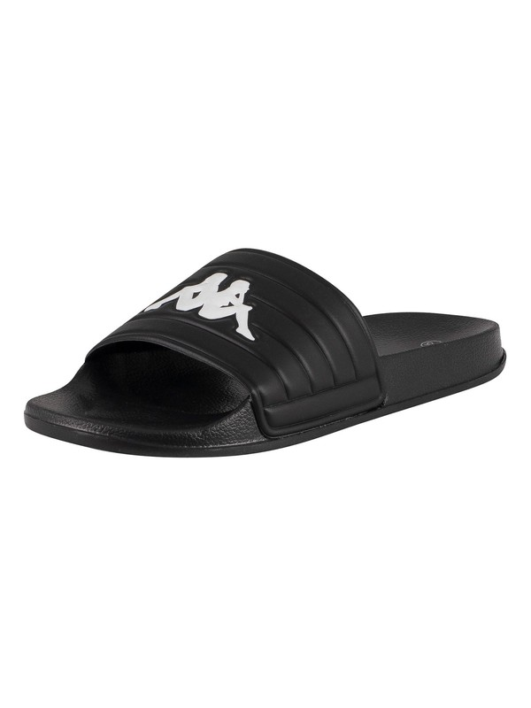 Kappa Matese Sliders - Black/White