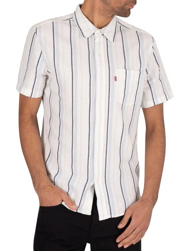 Levi's Classic Pocket Shortsleeved Shirt - Alton Cloud