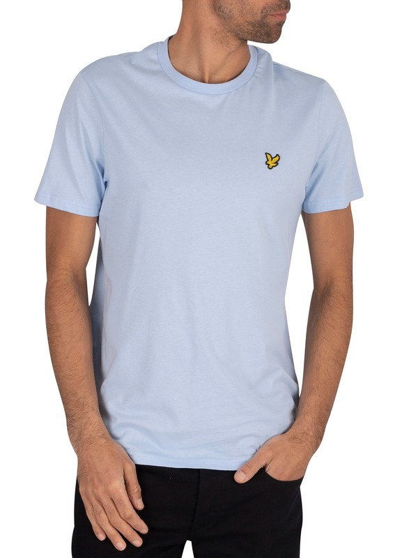 Lyle & Scott Crew T-Shirt - Pool Blue