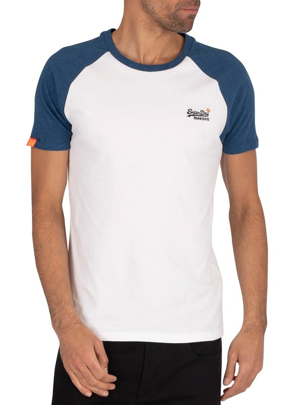 Superdry Classic Baseball T-Shirt - Optic