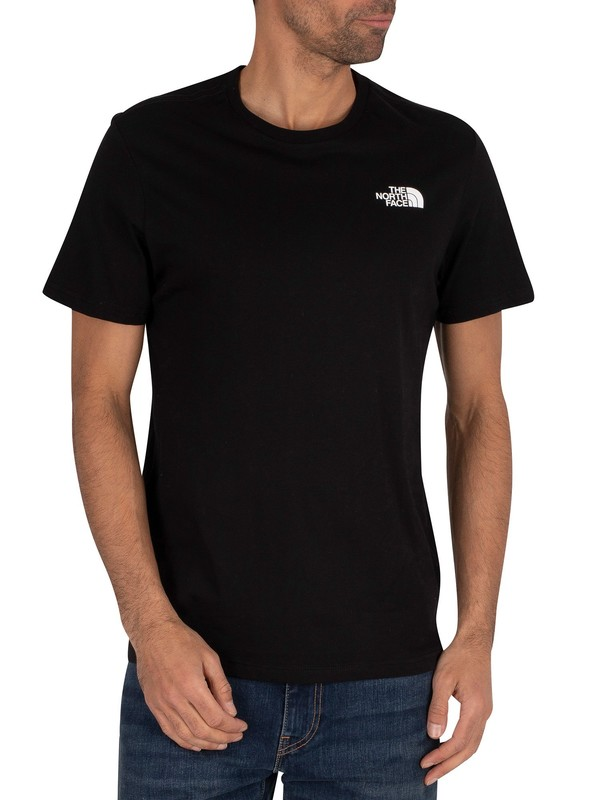 The North Face Graphic T-Shirt - Black/White