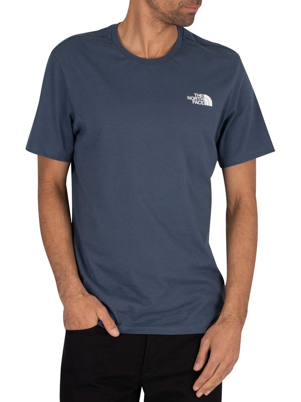 The North Face Simple Dome T-Shirt - Blue Wing Teal