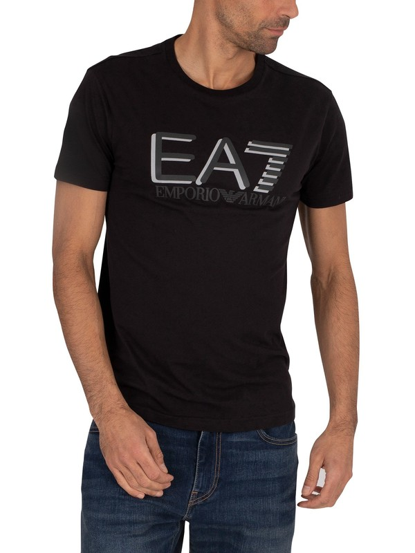 EA7 Graphic T-Shirt - Black
