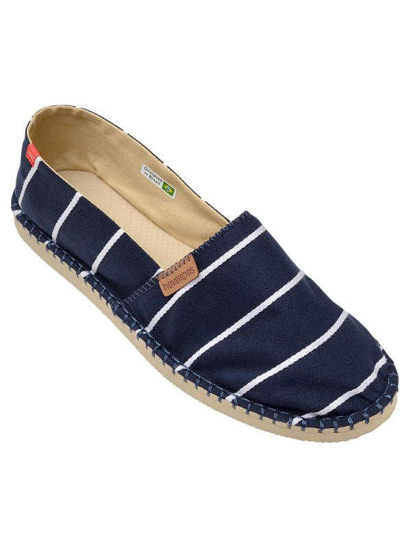 Havaianas Origine Stripes Espadrilles - Navy Blue