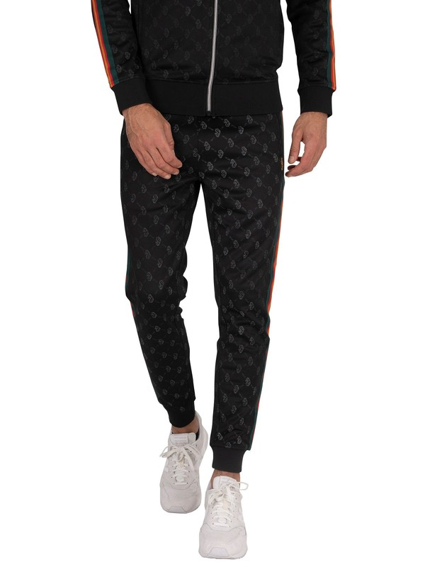 Luke 1977 Captain Marvellous Joggers - Jet Black