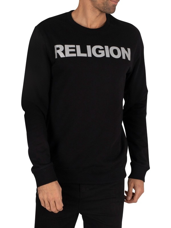Religion Reflect Sweatshirt - Black