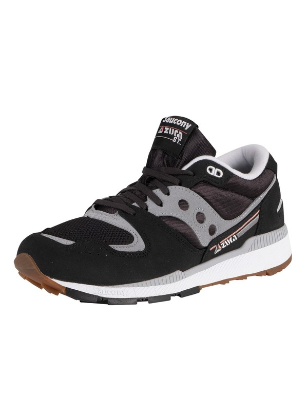 Saucony Azura Trainers - Black/Grey