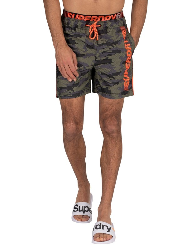 Superdry State Volley Swim Shorts - Camo
