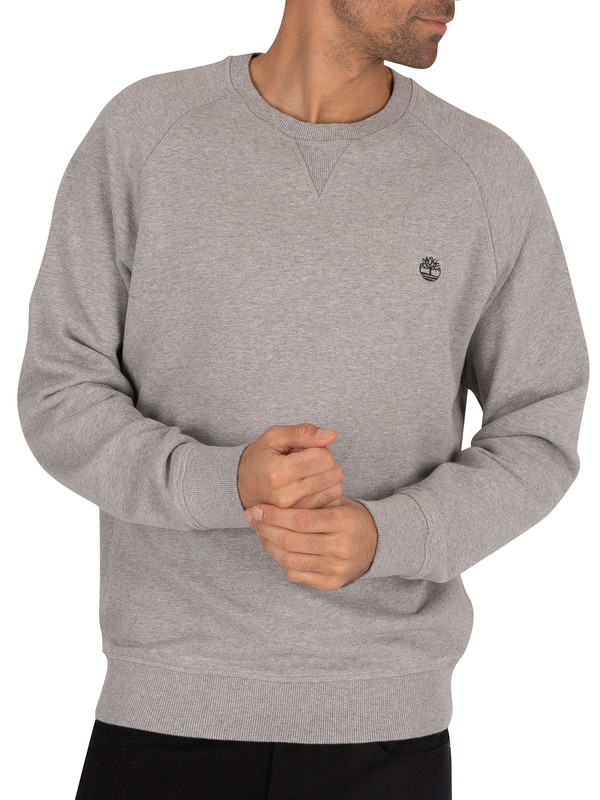Timberland Basic Sweatshirt - Medium Grey Heather