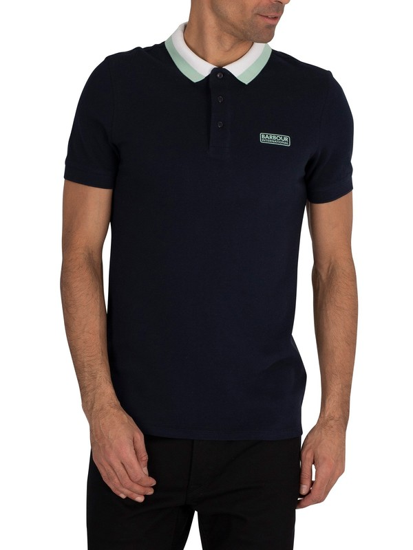 Barbour International Ampere Polo Shirt - Navy
