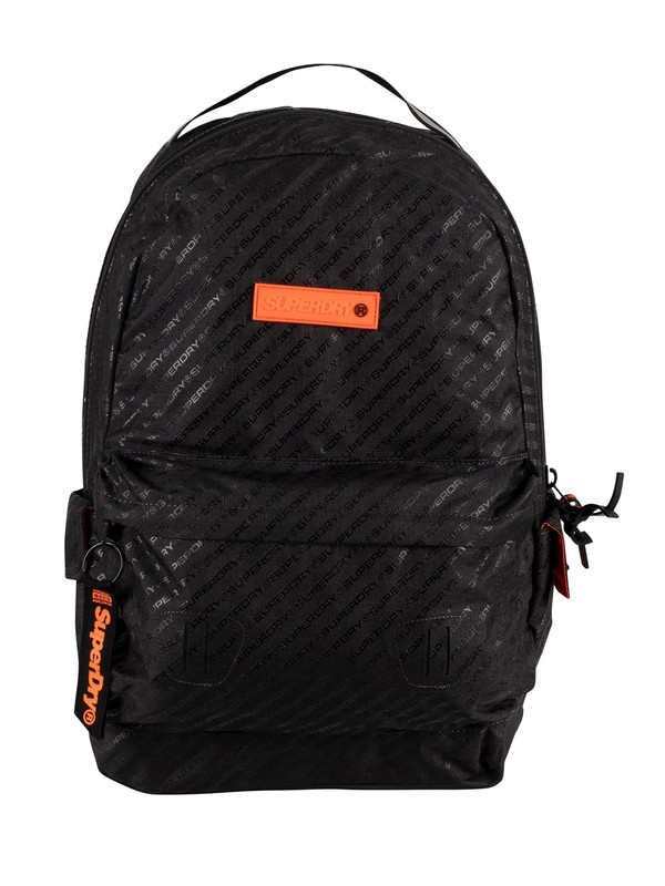 Superdry Hollow Montana All Over Print Backpack - Black AOP