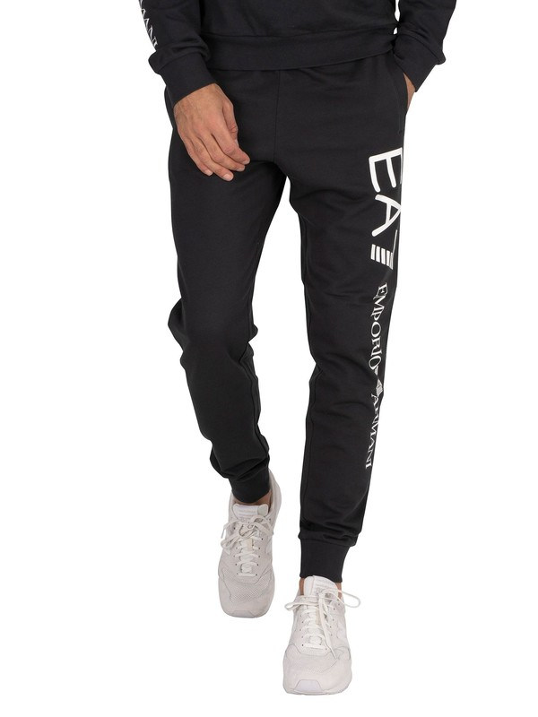 EA7 Logo Joggers - Night Blue