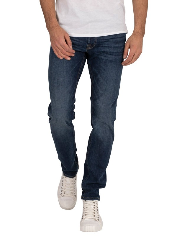 Jack & Jones Glenn Original 431 Slim Jeans - Blue Denim