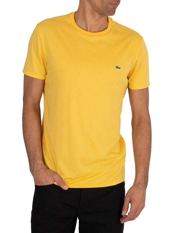 Lacoste Logo T-Shirt - Yellow