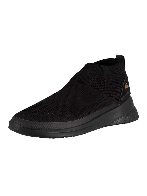 Lacoste LT Fit Sock 120 2 SMA Mesh Trainers - Black