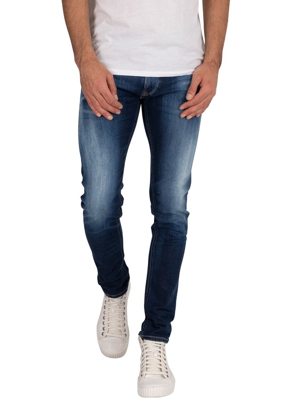 replay hyperflex denim jeans