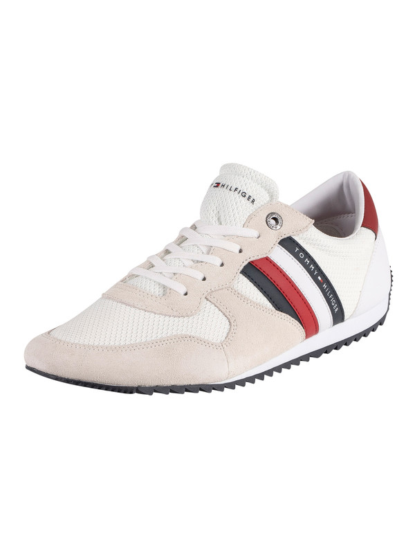 Tommy Hilfiger Essential Mesh Runner Trainers - White