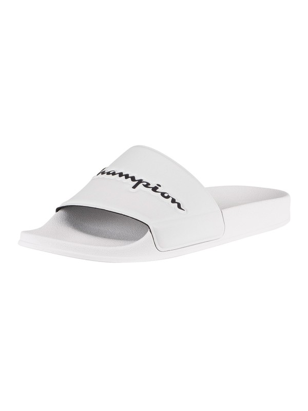 Champion Varsity 2.0 Sliders - White