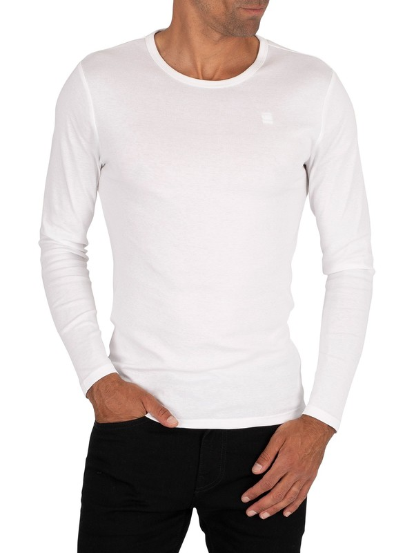 G-Star Base Longsleeved T-Shirt - White