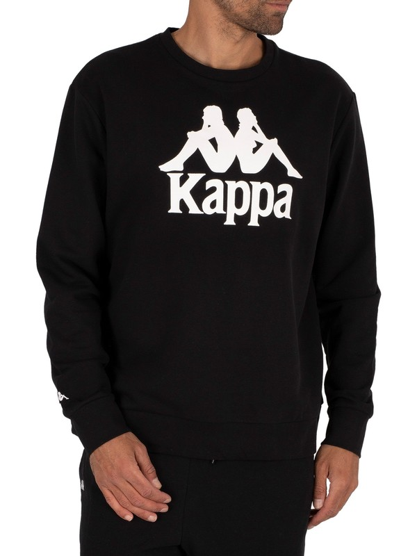Kappa Authentic Telas Sweatshirt - Black/White