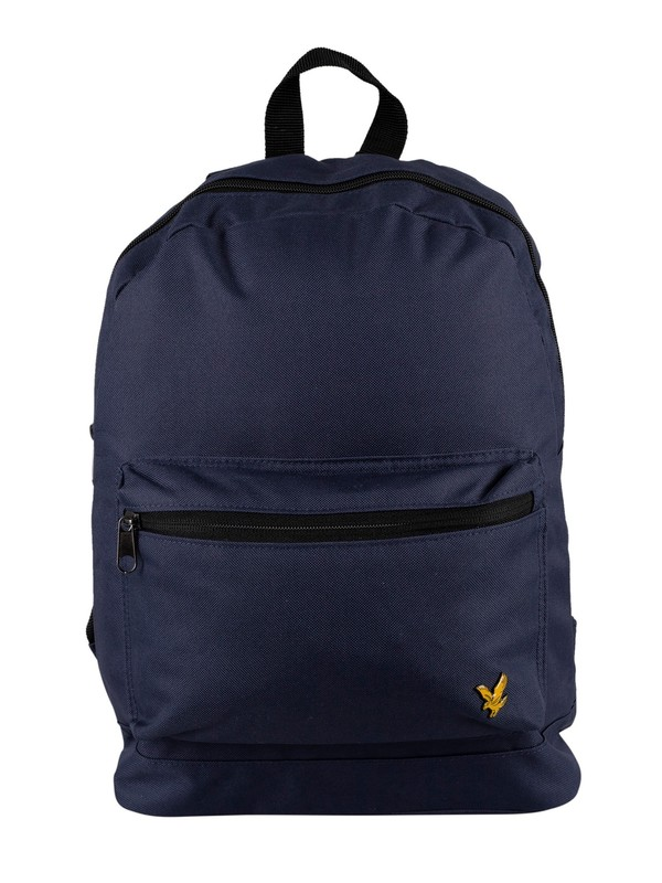Lyle & Scott Logo Backpack - Navy
