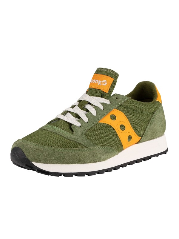 Saucony Jazz Original Vintage Trainers - Green