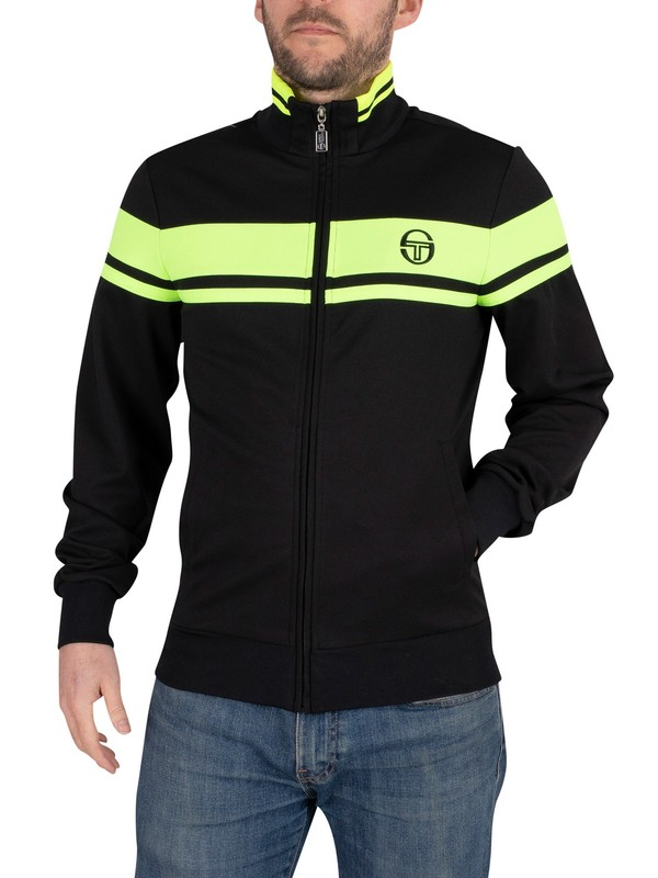 Sergio Tacchini Damarindo Track Jacket - Black/Yellow