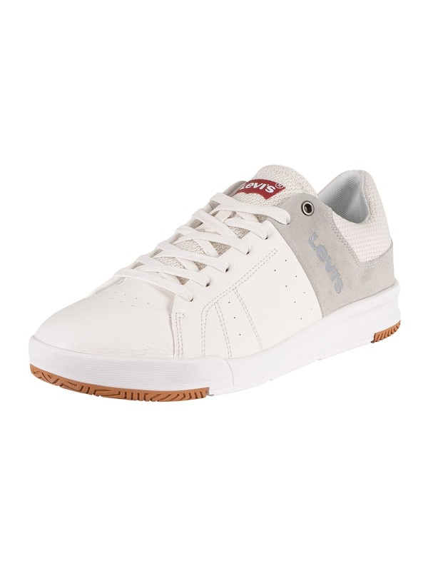 Levi's Toyonal Leather Trainers - Regular White