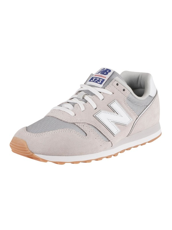 New Balance 373 Suede Trainers - Summer Fog