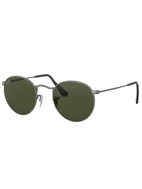 Ray-Ban Round Metal Sunglasses - Matte Gunmetal