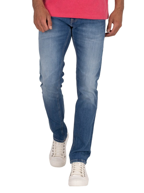 Tommy Jeans Scanton Slim Jeans - Mick Mid Blue