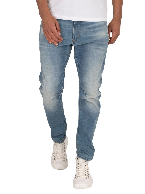 G-Star D-Staq 3D Slim Fit Jeans - Vintage Striking Blue