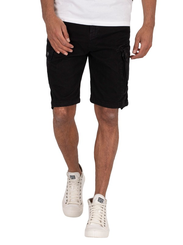 G-Star Roxic Cargo Shorts - Dark Black