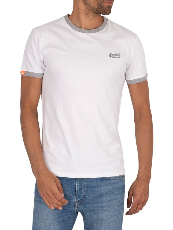 Superdry Ringer T-Shirt - Optic