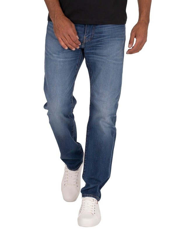 Levi's 502 Taper Jeans - Smoke Stacked